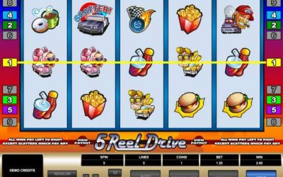 5 Reel Drive – A Smooth Way For Gamblers