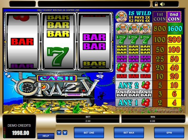 Cash Crazy - Gambling Arena For Online Players