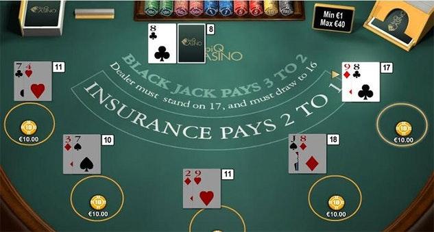 Enjoy Blackjack Games Online