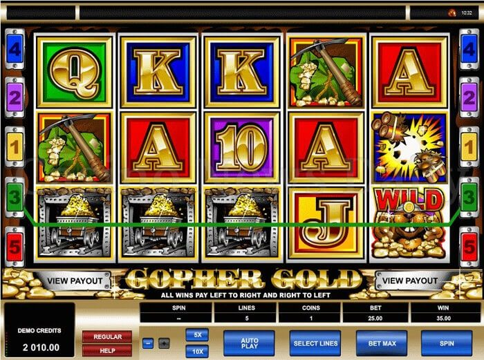 Gopher Gold – Sea Of Betting World