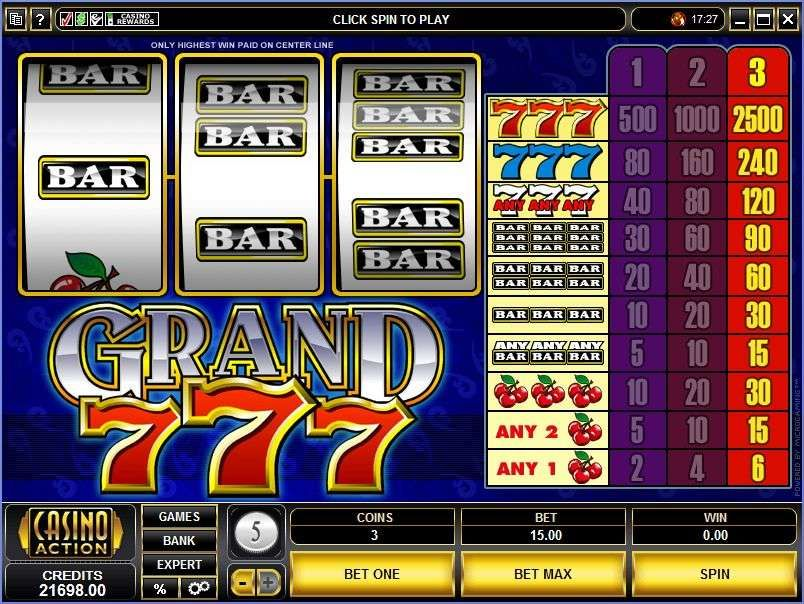Grand 7s – Planet Of The Gambling