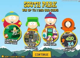 Southpark an Online Casino Game